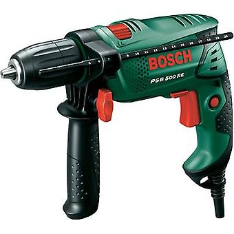 Bosch Home and Garden PSB 500 RE 1-speed-Impact driver 500 W incl. case