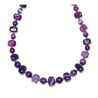Lola Rose Mobi Necklace Purple Montana Agate