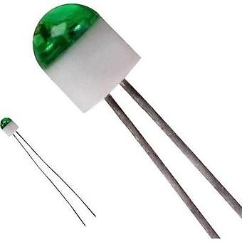 LED wired Green Circular 2 mm 6 mcd 160