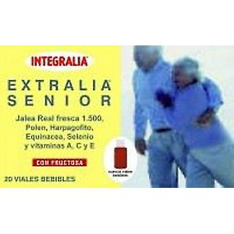 Integralia Extralia Senior 20 Ampollas (Vitaminas y suplementos , Multinutrientes)