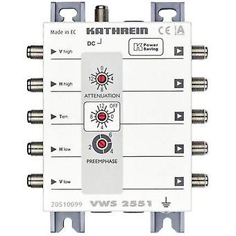 SAT amplificador 4-way 16 dB Kathrein VWS 2551