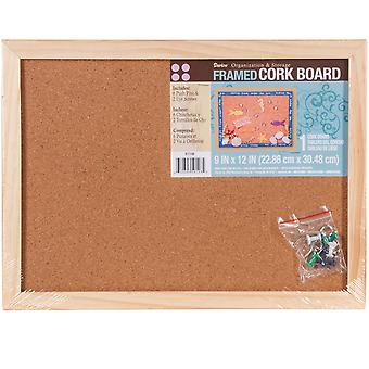 Framed Cork Memo Board 9
