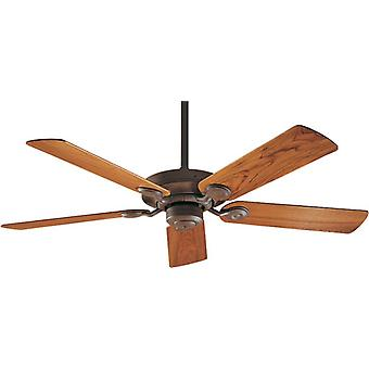 "Ceiling Fan OUTDOOR ELEMENTS 132 cm / 52"" Weathered Brick"