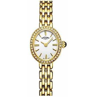 Rotary Womans Gold Plated Cocktail LB05051/02 Watch