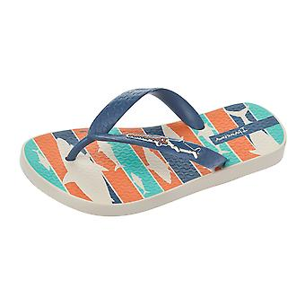 Ipanema Shark Kids Flip Flops / Sandals - Blue