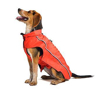 Hund gået Smart Nano Breaker regnfrakke rød 26