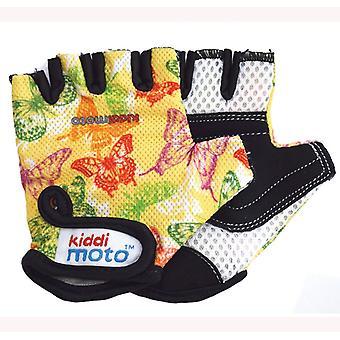 Motyl motyle rękawiczki rowerowe Kiddimoto