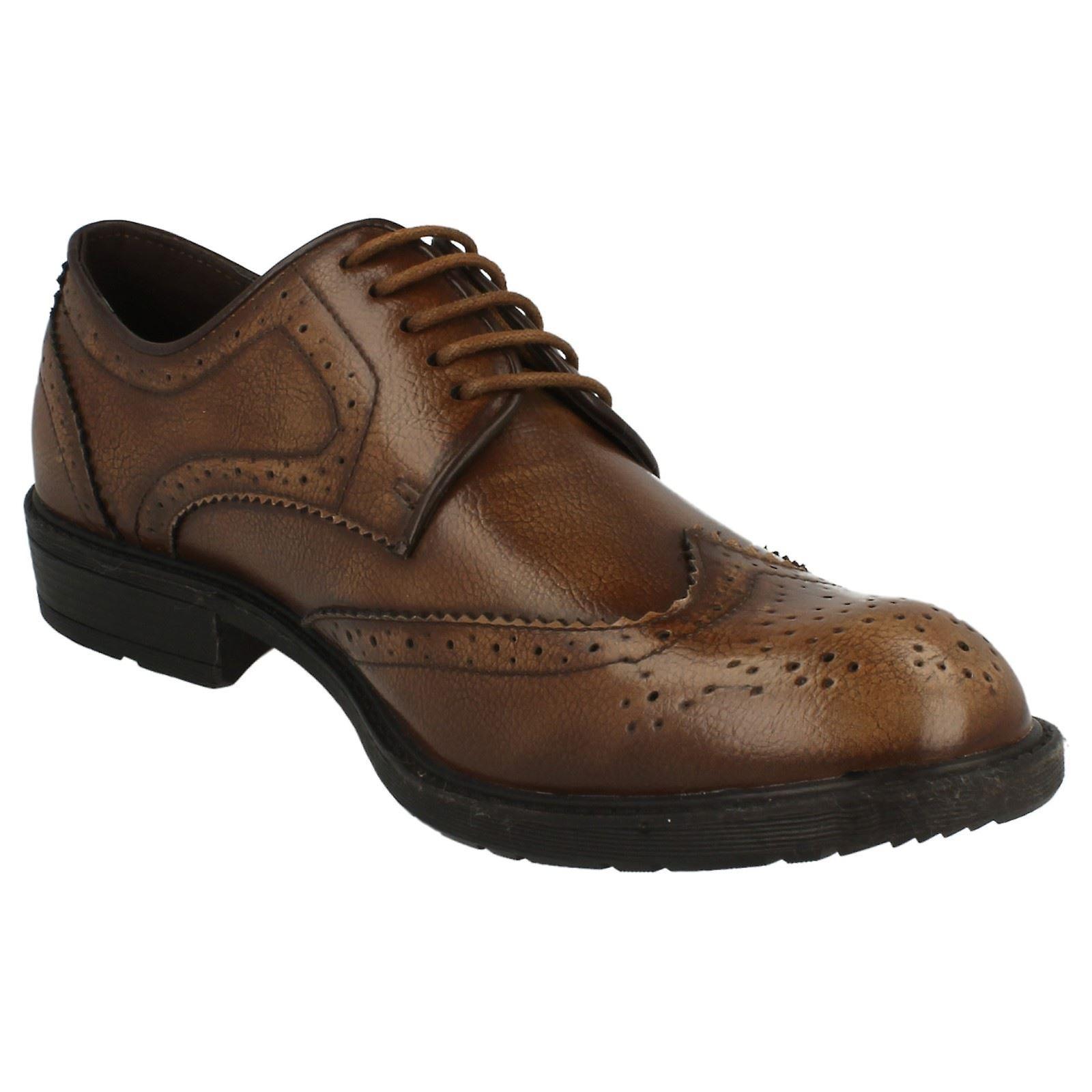 Lace Maverick Heel Up Brogue Low Shoe qR7nWagR