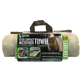 McNett Tactical Microfiber Ultra Compact Towel - Sand