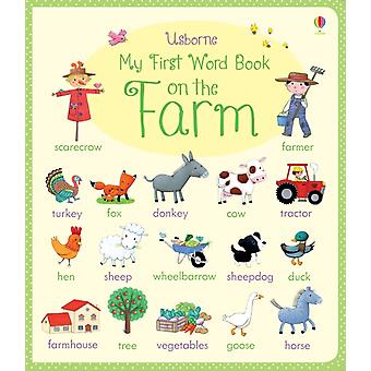 My First Word Book on the Farm (My First Word Books) (Board book) by Brooks Felicity Bonnet Rosalinde