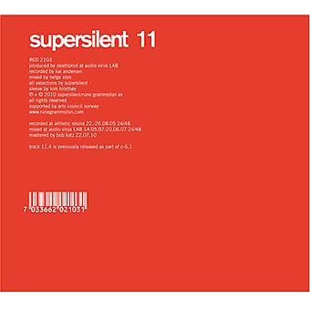 Supersilent - 11 [CD] USA importerer