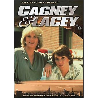 Cagney & Lacey: Sæson 2 (2PC)/(2Pk) [DVD] USA import