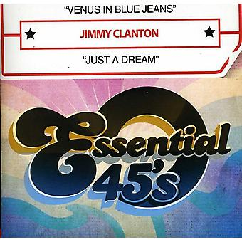 Jimmy Clanton - Venus in Blue Jeans/Just a Dream [CD] USA import