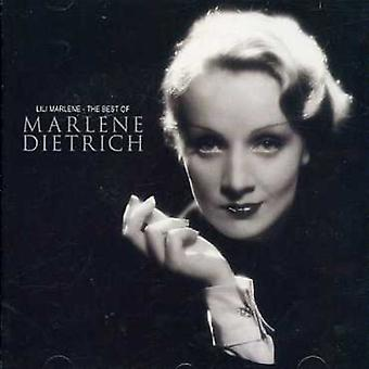 Marlene Dietrich - Lili Marlene-Best of [CD] USA import