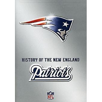 NFL historien for New England Patriots [DVD] USA importerer