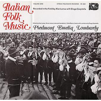 Italian Folk Music - Italian Folk Music: Vol. 1-Piedmont Emelia Lombardy [CD] USA import