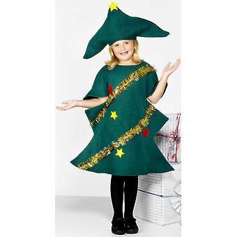 Fir tree kinderen Kerstmis kostuum