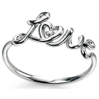 925 Silver Love Ring Trend