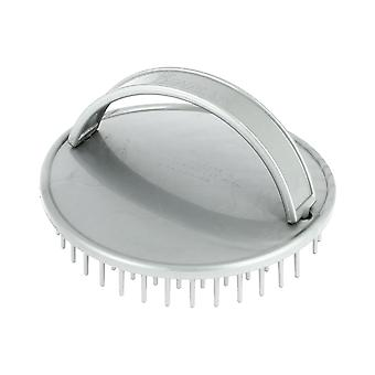 Denman D6 Be-Bop Massage Brush Silver