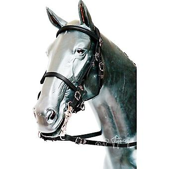 Hermanos Gómez Portuguese Bridle Cortesia Lisa Buckle Chrome