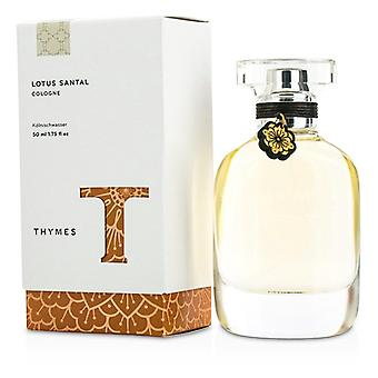 Thymes Lotus Santal Cologne Spray 50ml/1.75oz