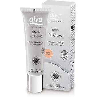 Alva Bb Face Cream Sensitive Skin Cream Beige 30ml (Woman , Makeup , Face , BB Creams)