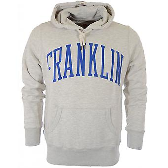Franklin & Marshall Printed Original Grey Hoodie
