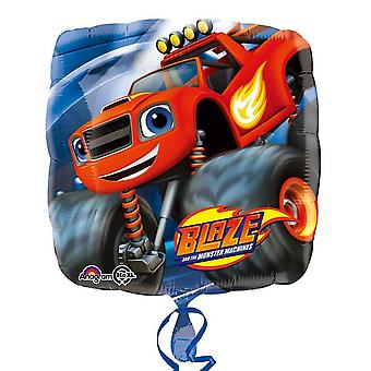 Blaze & The Monster Machines Anagram 18 Inch Square Foil Balloon