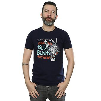 Looney Tunes Men's Vintage Bugs Bunny T-Shirt