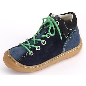 Ricosta Mikey Reef Nautic Velour 1220800158   infants shoes