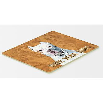 Carolines Treasures  SC9130CMT Pit Bull Kitchen or Bath Mat 20x30