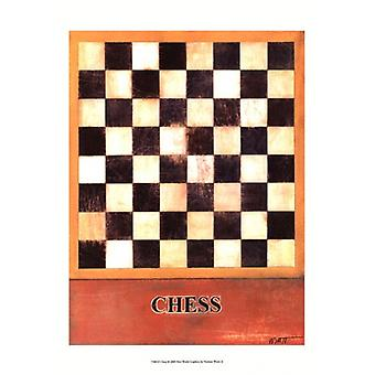 Chess Poster Print by Norman Wyatt Jr (13 x 19)