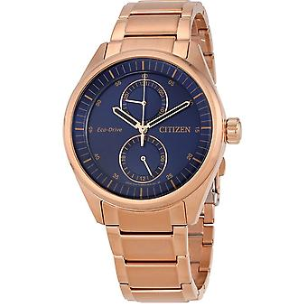 Citizen Eco-Drive Paradex Rose guld-Tone Herre ur BU3013 - 53L