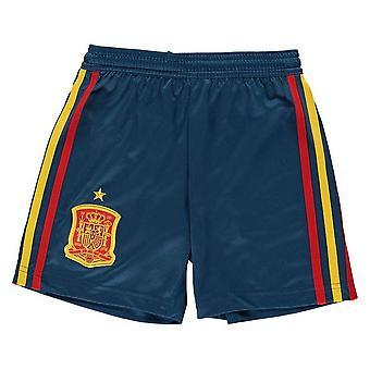 2018-2019年スペイン ホーム アディダス サッカー パンツ (キッズ)