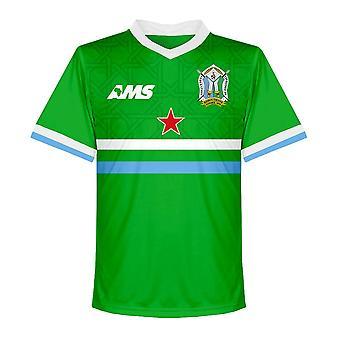 2017-2018 Djibouti Away Football Shirt