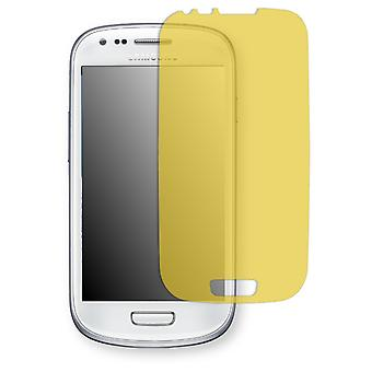 Samsung I8190 Galaxy S3 mini Crystal Edition display protector - Golebo view protector protector (deliberately smaller than the display, as this is arched)