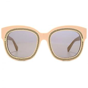 Stella McCartney Falabella Square Sunglasses In Nude Pink
