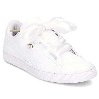 Puma Basket Heart Patent Wns 36307302 universal all year women shoes