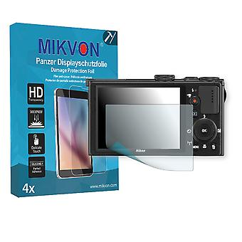 Nikon COOLPIX P340 Screen Protector - Mikvon Armor Screen Protector (Retail Package with accessories)