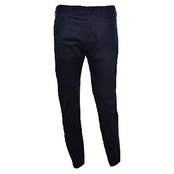 Armani Jeans mænds J45 Slim Fit sorte Chinos