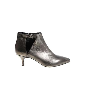 Strategia ladies PE4927FUCILE grey leather ankle boots