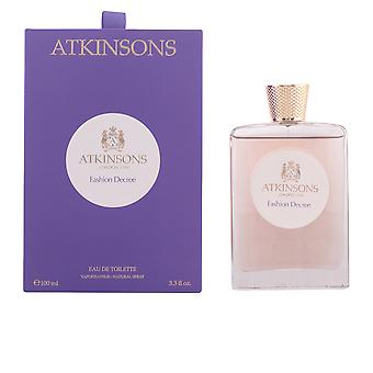 Atkinsons Fashion Decree Eau De Toilette Vapo 100ml Scent Womens Perfume Sealed
