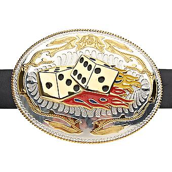 Iced out bling XXL Playa DICE ON FIRE belt