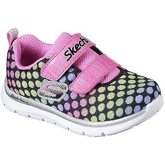 Skechers Girls Skech-Lite Lil Polka Dots Athletic Trainers Shoes