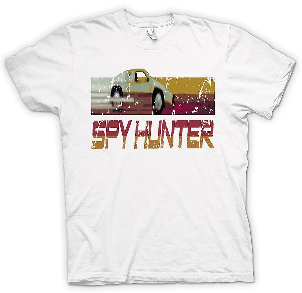 Mens T-shirt - Spyhunter - C64 - Retro Computer Game 0s