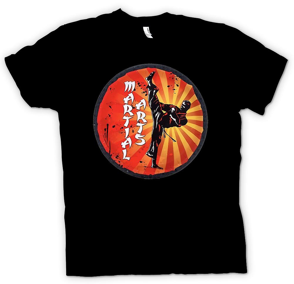 Womens T-shirt - Martial-Arts - Pop Art-Design
