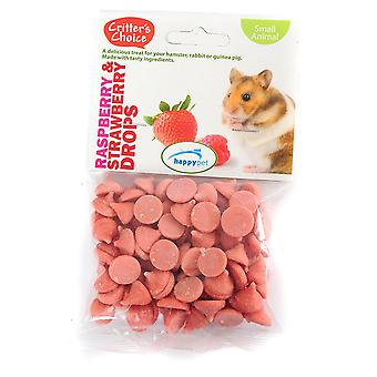 Small Pet Treats Raspberry and Strawberry Drops