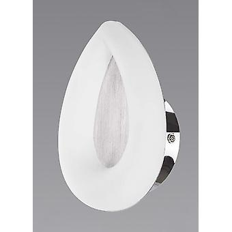 Juno pared lámpara 5W LED aluminio satinado 3000K