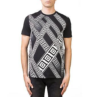 Versace Collection Men's Crew Neck Regular Fit T-Shirt Black