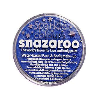 Snazaroo azul brillo cara y pintura de cuerpo